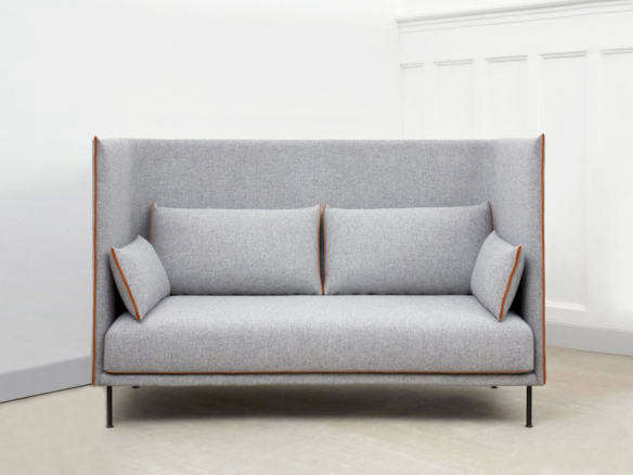 Silhouette 2 Seater Sofa High Backed