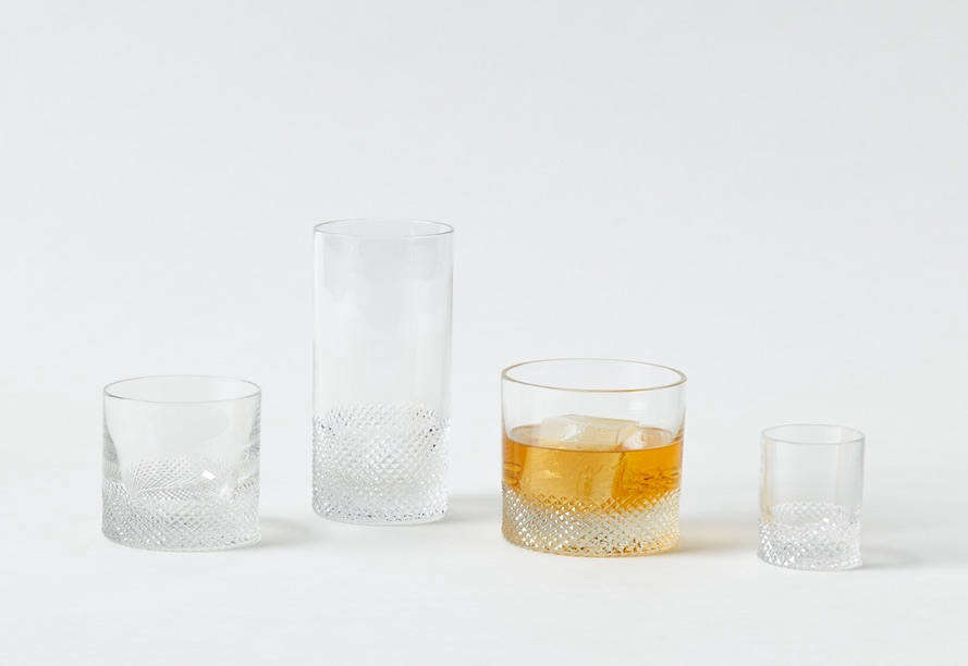 Julie likes this Diamond Crystal Glassware collection for the home bar, made in theCzech Republic by designerRichard Brendon. Each piece is mouth-blown, with the diamond pattern cut by hand. Prices range from $70 for a shot glass to $130 for a highball glass at March in San Francisco.