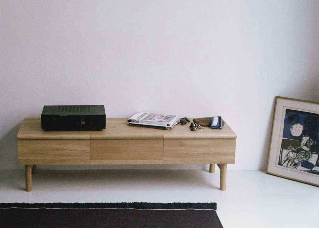 The Low Sideboard with Three Drawers is €src=