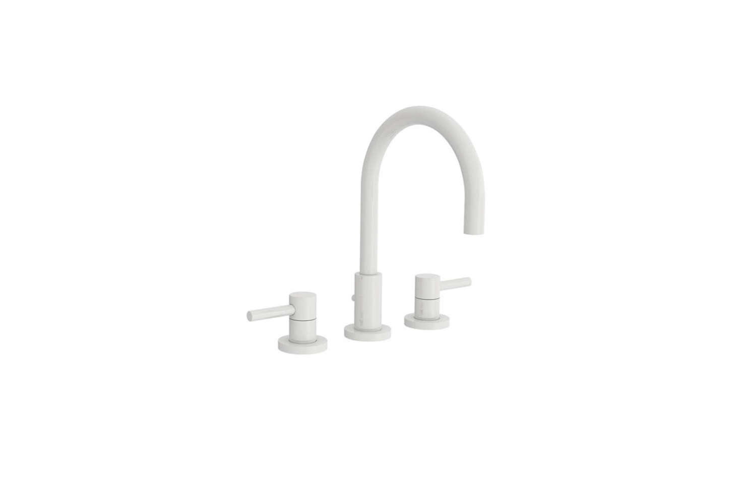 10 Easy Pieces: Modern Matte White Faucets - Remodelista