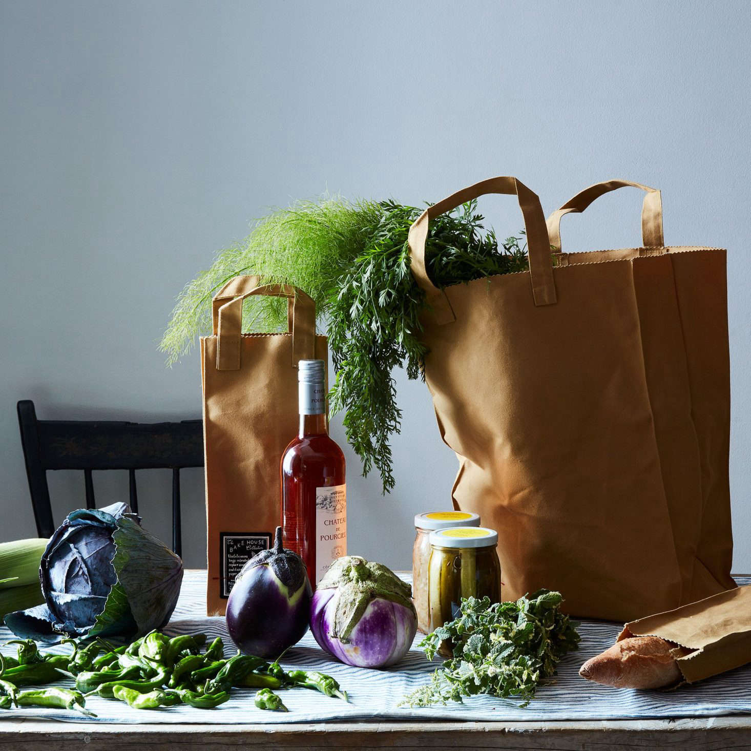 If you have access to a grocery store with a bulk section, there are a few things you should bring to make the most of shopping. Learn what they are in The Zero-Waste Shopper's Kit: What to Bring to the Grocery Store to Buy in Bulk. Photograph courtesy of Food52.