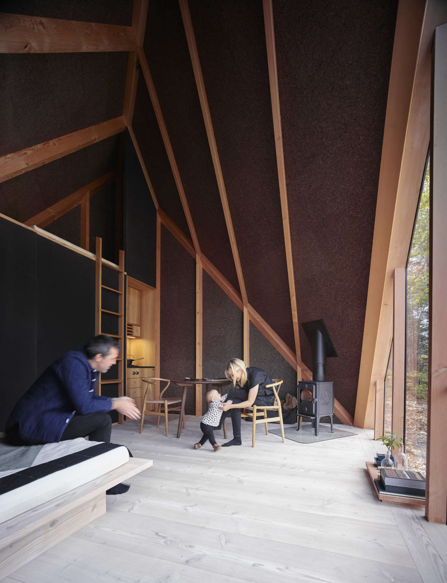 The New Nordic A-Frame: A Flat-Pack Tiny House by BIG