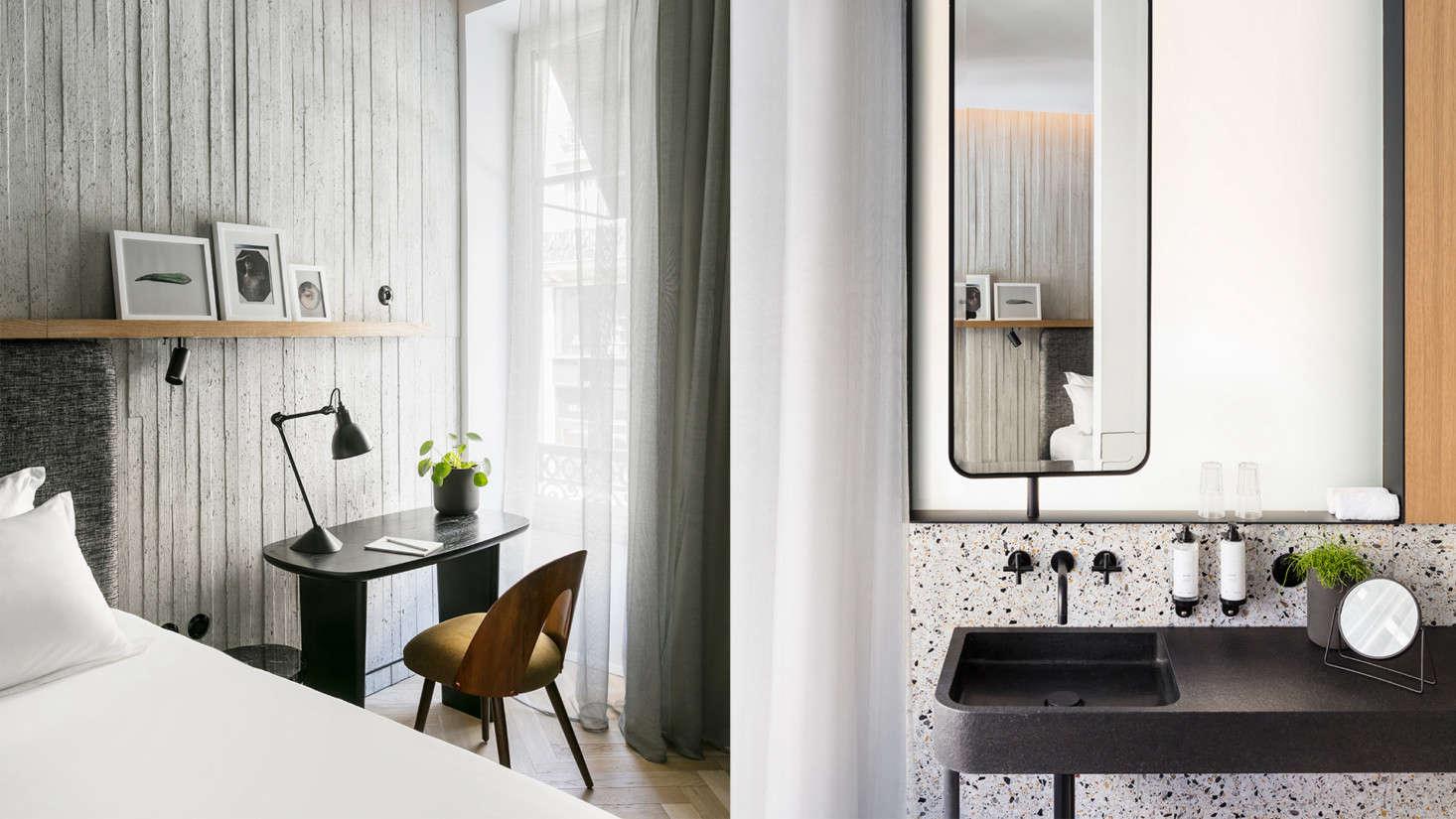 Arts et Métiers: An Industrial-Cool Hotel in Paris, Redone in ...