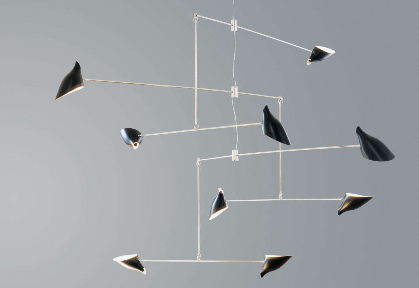 12 Mobile Lights Pendant Lighting With Moving Parts