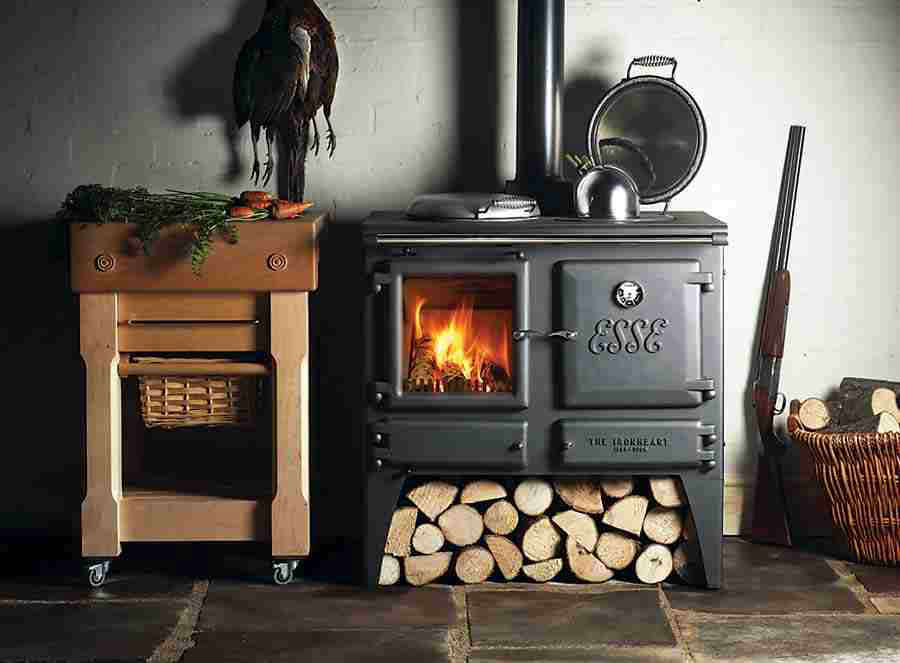 The Esse Ironheart A Steel And Cast Iron Wood Cookstove From England May