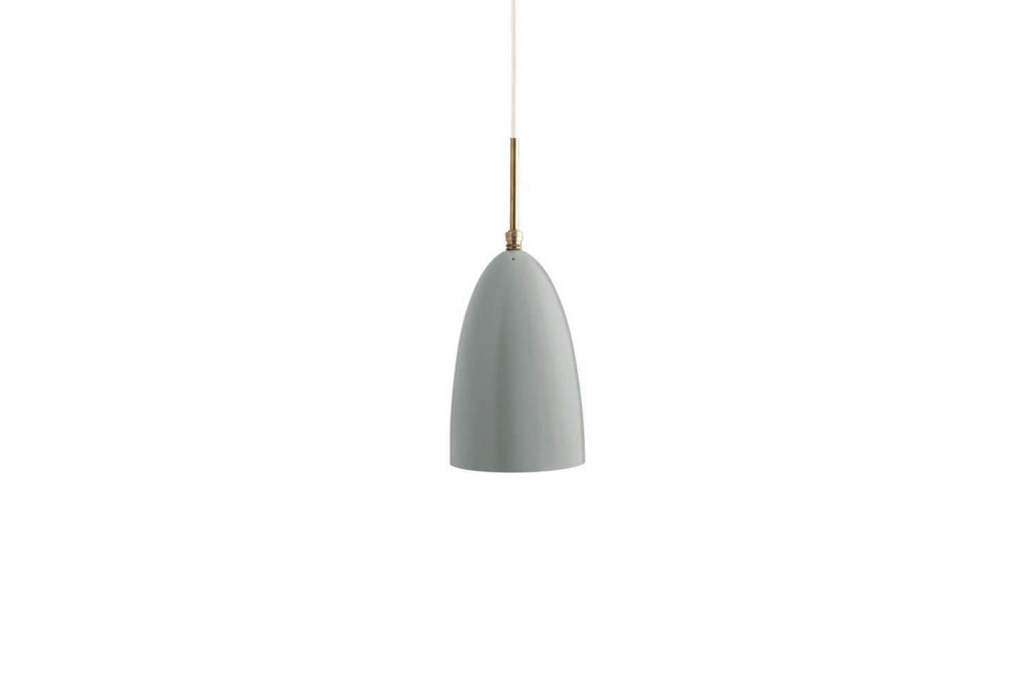 The Grossman Grashoppa Pendant Light in Blue Gray (shown) is $359 at YLighting.