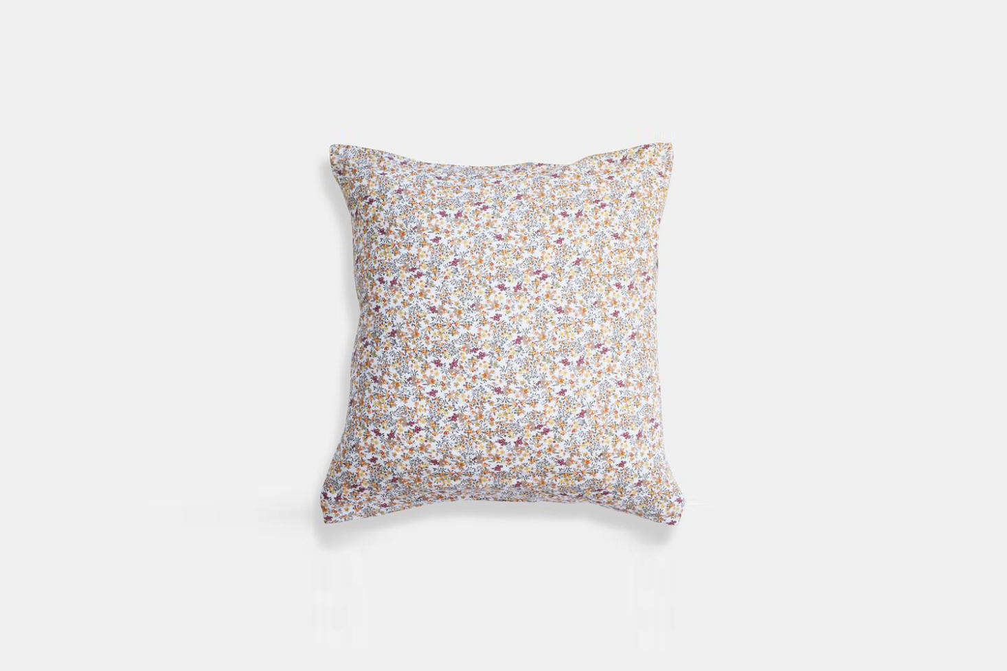 The Ligne Particulier Curry Flowers Linen Euro Pillowcase is $65 at Collyer&#8