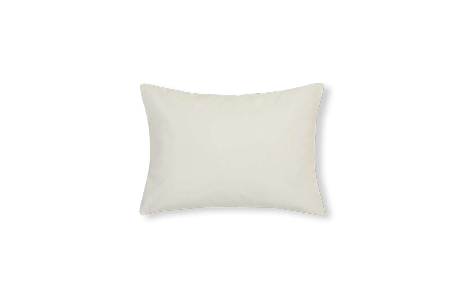 The Optic White Linen Cushion Cover €39 at Merci.