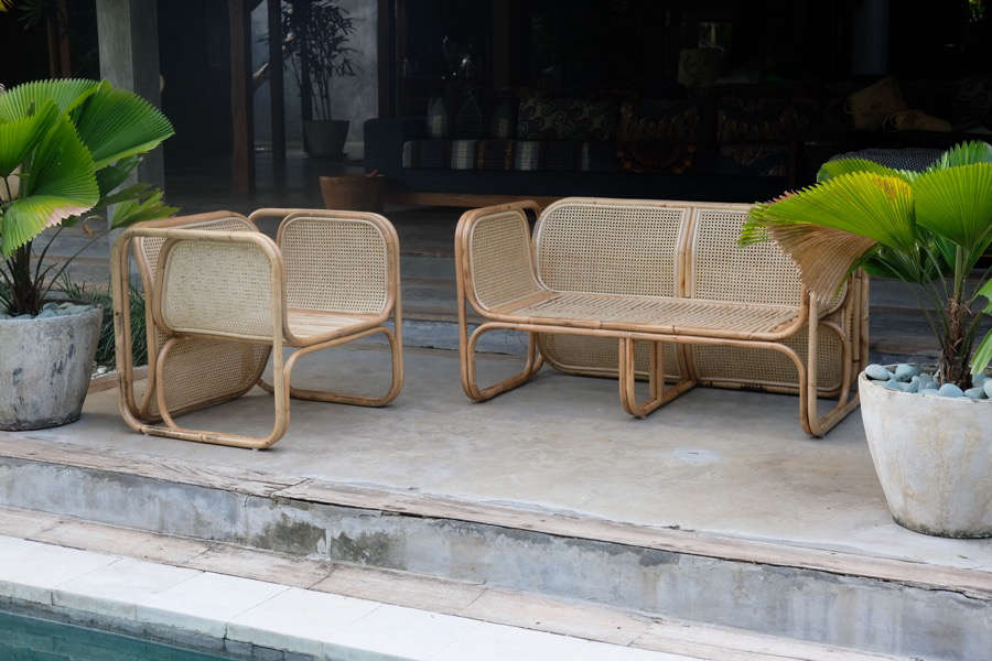 Above, L To R: The Cane Lounger Is $849 AUD And The Deux Cane