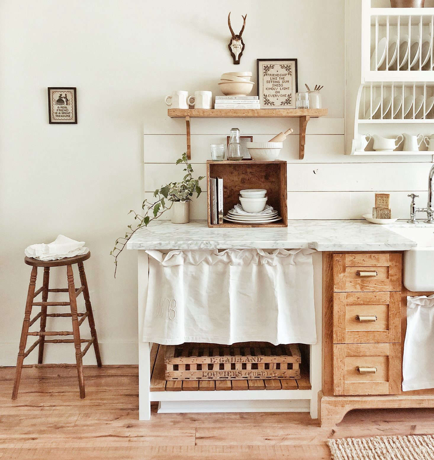 And, drumroll pleasePWhitetail Farmhouse was crowned the winner of the Best Kitchen Organization category of the  Considered Design Awards. Learn more about the project inA Closer Look at Whitetail Farmhouse, This Year's Best Kitchen Organization Project.