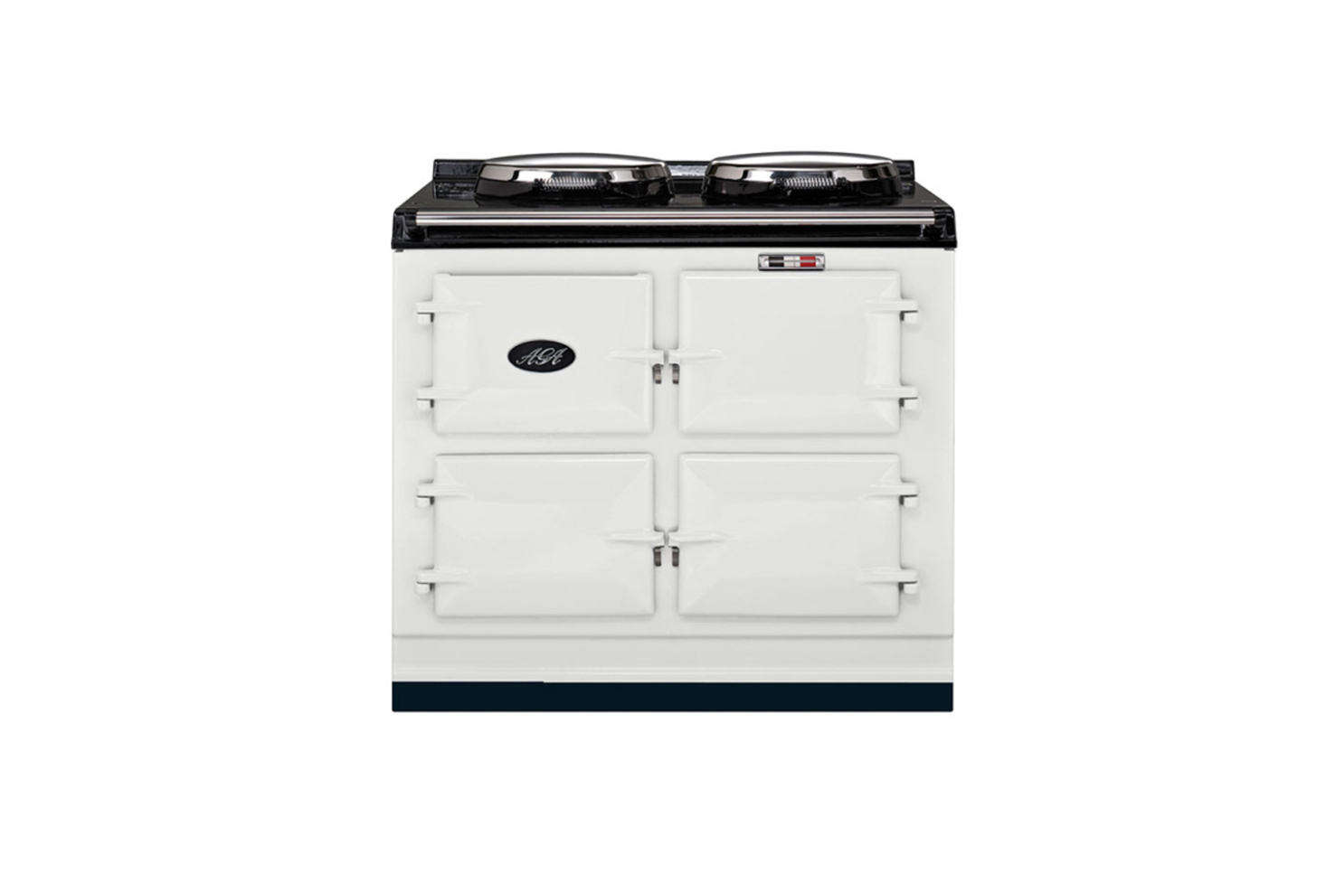The Aga Cooker has been the gold standard in Britain since 1929. Shown here is the Aga Traditional Cast Iron Range Cooker with three ovens starting at £11,020 from Aga Living. For more on Aga ranges, see our postsDesign Sleuth: Classic Aga Cookers andObject Lessons: The Great British Range Cooker.