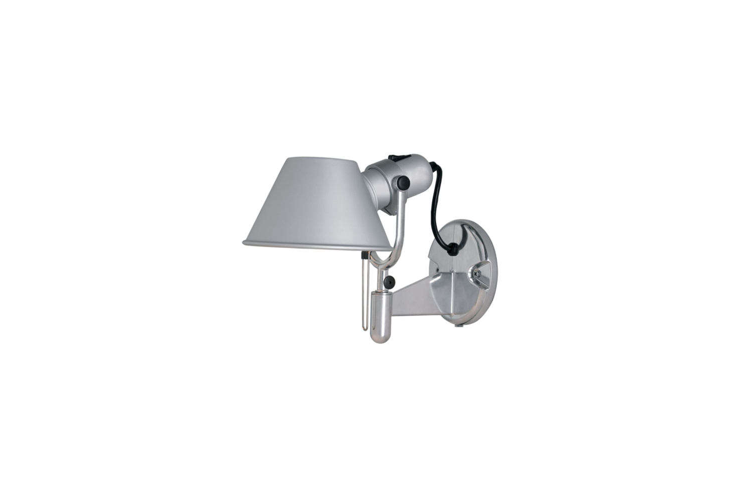The Artemide Tolomeo Wall Spot Light by Michele De Lucchi and Giancarlo Fassina is $175 from Design Within Reach.