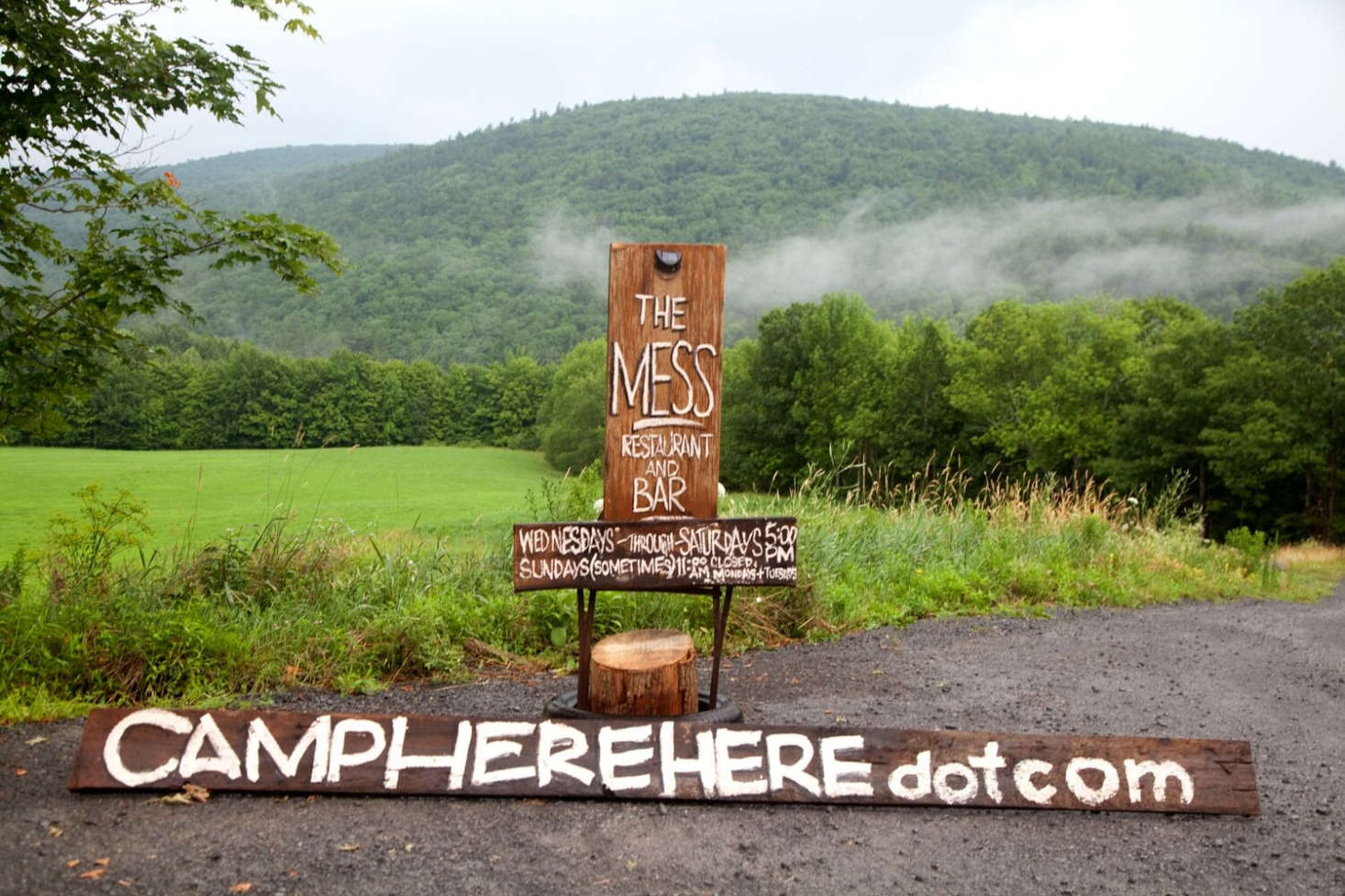 Here Here is in the hamlet of West Fulton in the far northern foothills of the Catskill Mountains, approximately three hours north of NYC, and home, according to the camp guide, to &#8