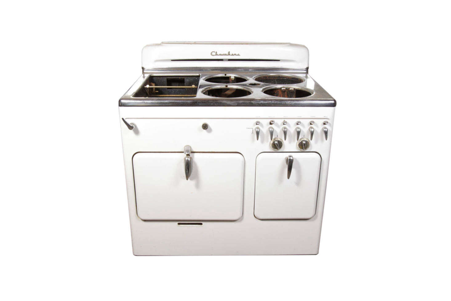 The Chambers Retro Kitchen Range In White Is The Vintage Range At The  Hudson Milliner Bu0026B