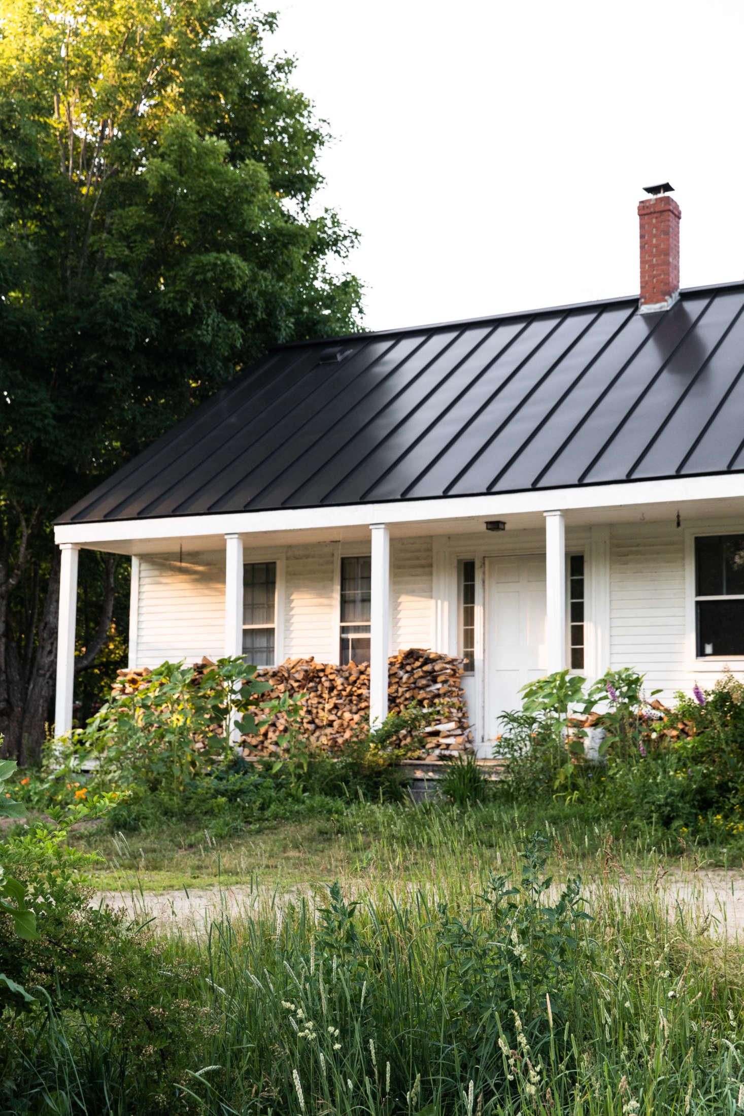The House That Craigslist Built: A Bare-Bones Farmhouse in Midcoast on maine saltbox plans, maine barn plans, maine outhouse plans, maine farm houses,
