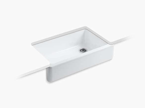Kohler K 6489 0 Whitehaven Single Basin Sink