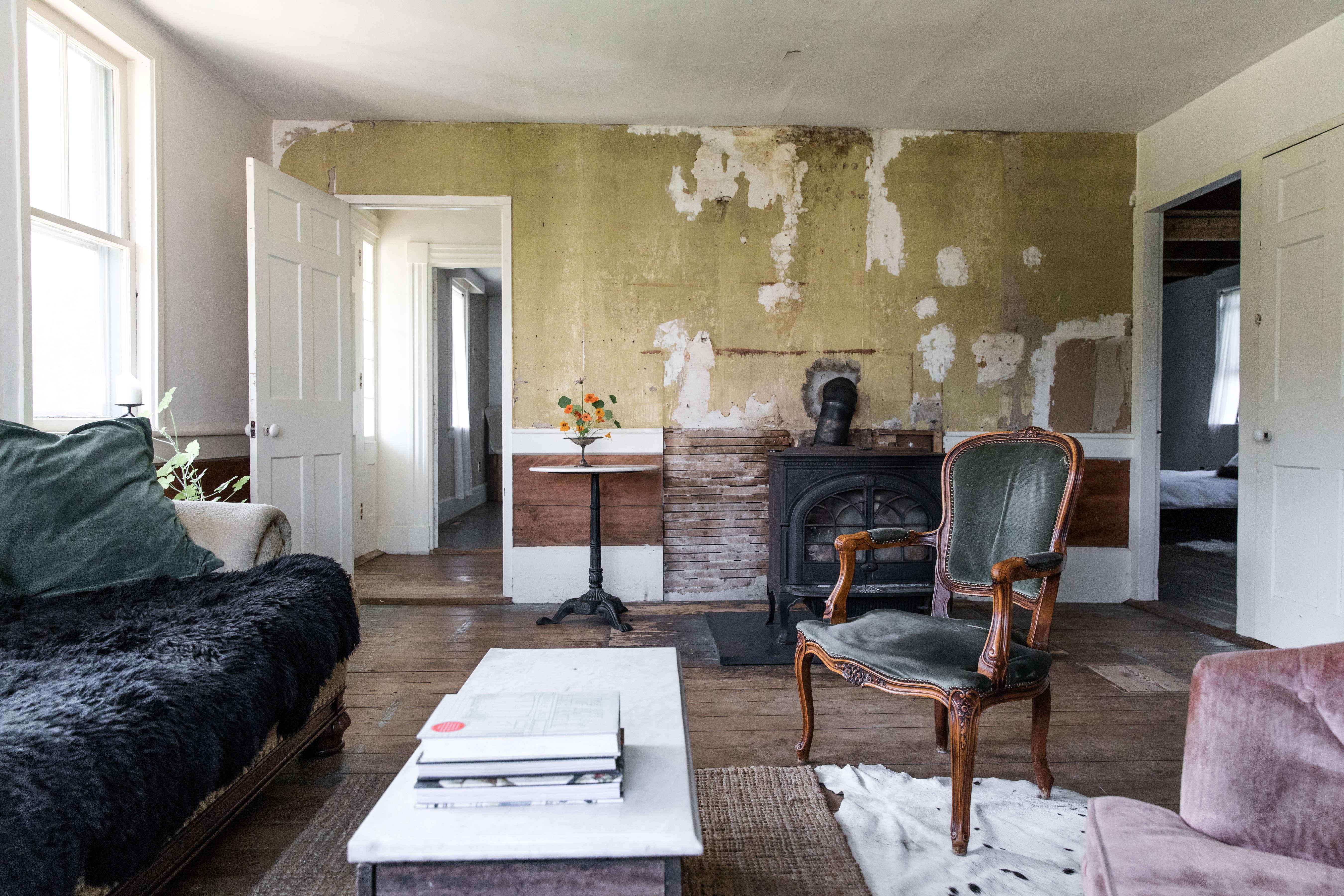 The House That Craigslist Built A Bare Bones Farmhouse In Midcoast Maine