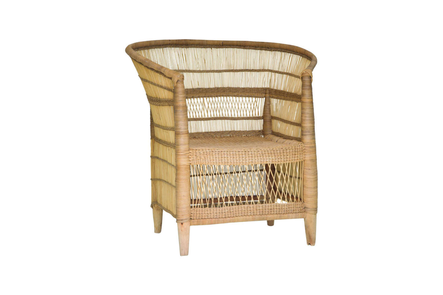A classic French-AfricanMalawi Wicker Chair can be ordered through World Market for $349.99. It&#8