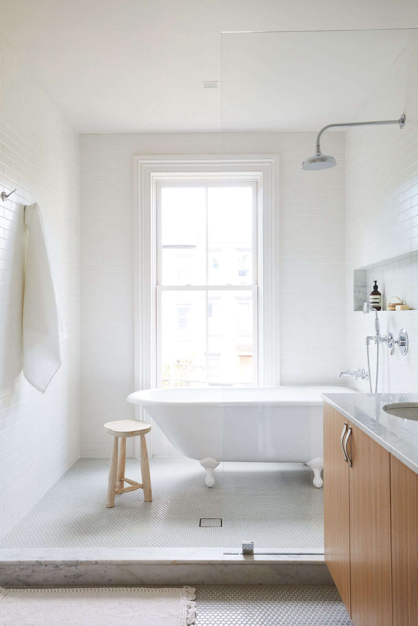 Rehab Diary Monochromatic Luxe In Park Slope Remodelista