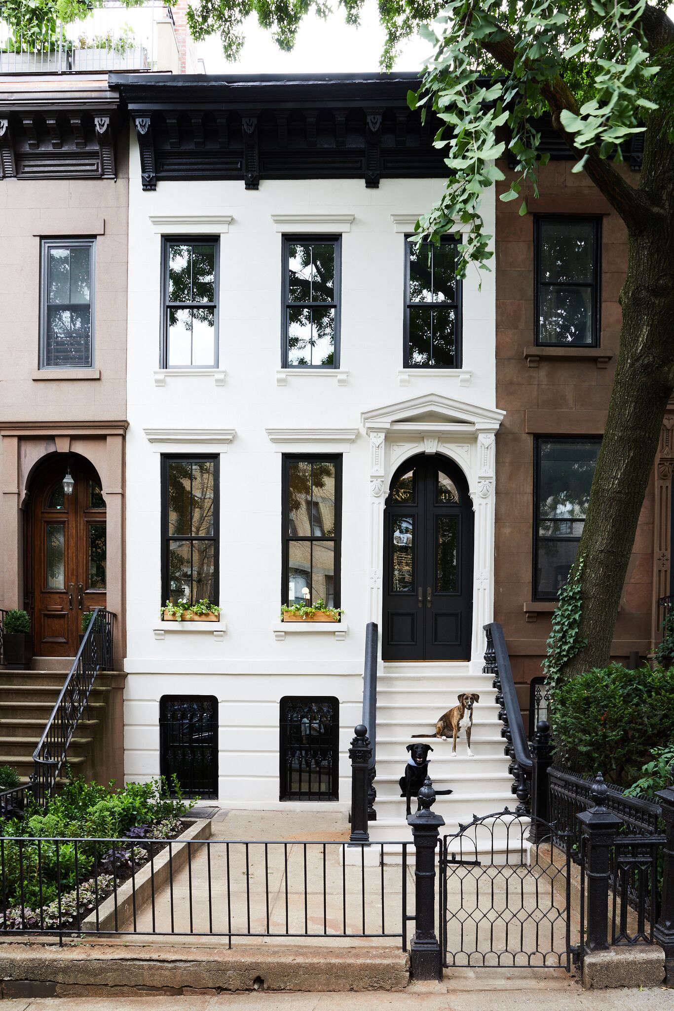 Rehab Diary: Monochromatic Luxe in Park Slope