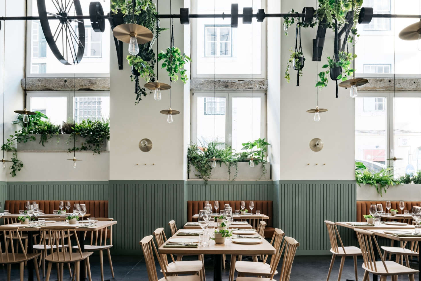Urban Jungle: Prado, a New Restaurant in an Abandoned Factory in Lisbon