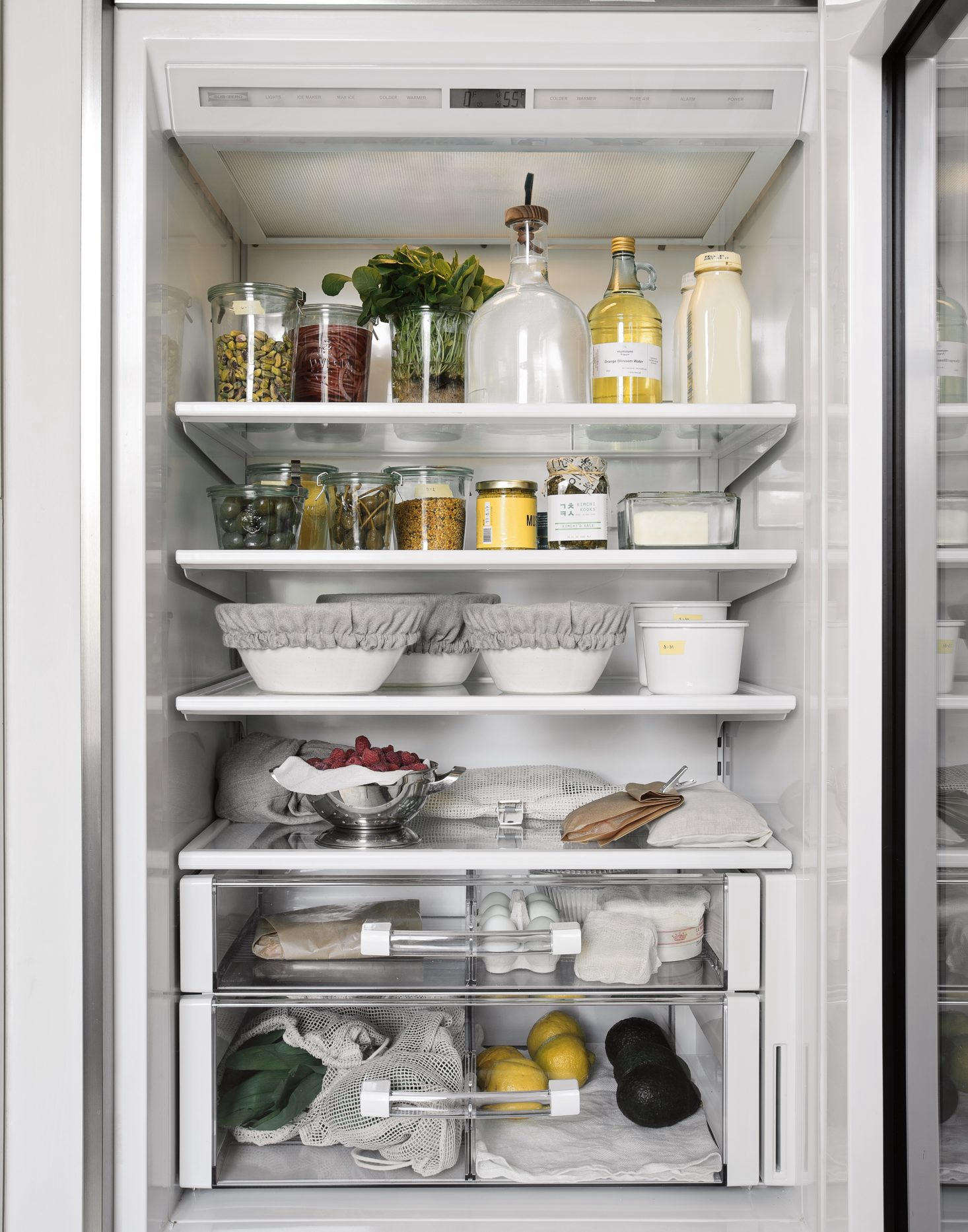 Who knew your refrigerator could be a source of aesthetic inspiration? In Steal This Look: An Organized Refrigerator, Plastic-Free Edition, the editors break down how to achieve plastic-free paradise, plus a few favorite sources for storage containers. Photograph by Matthew Williams forRemodelista: The Organized Home.