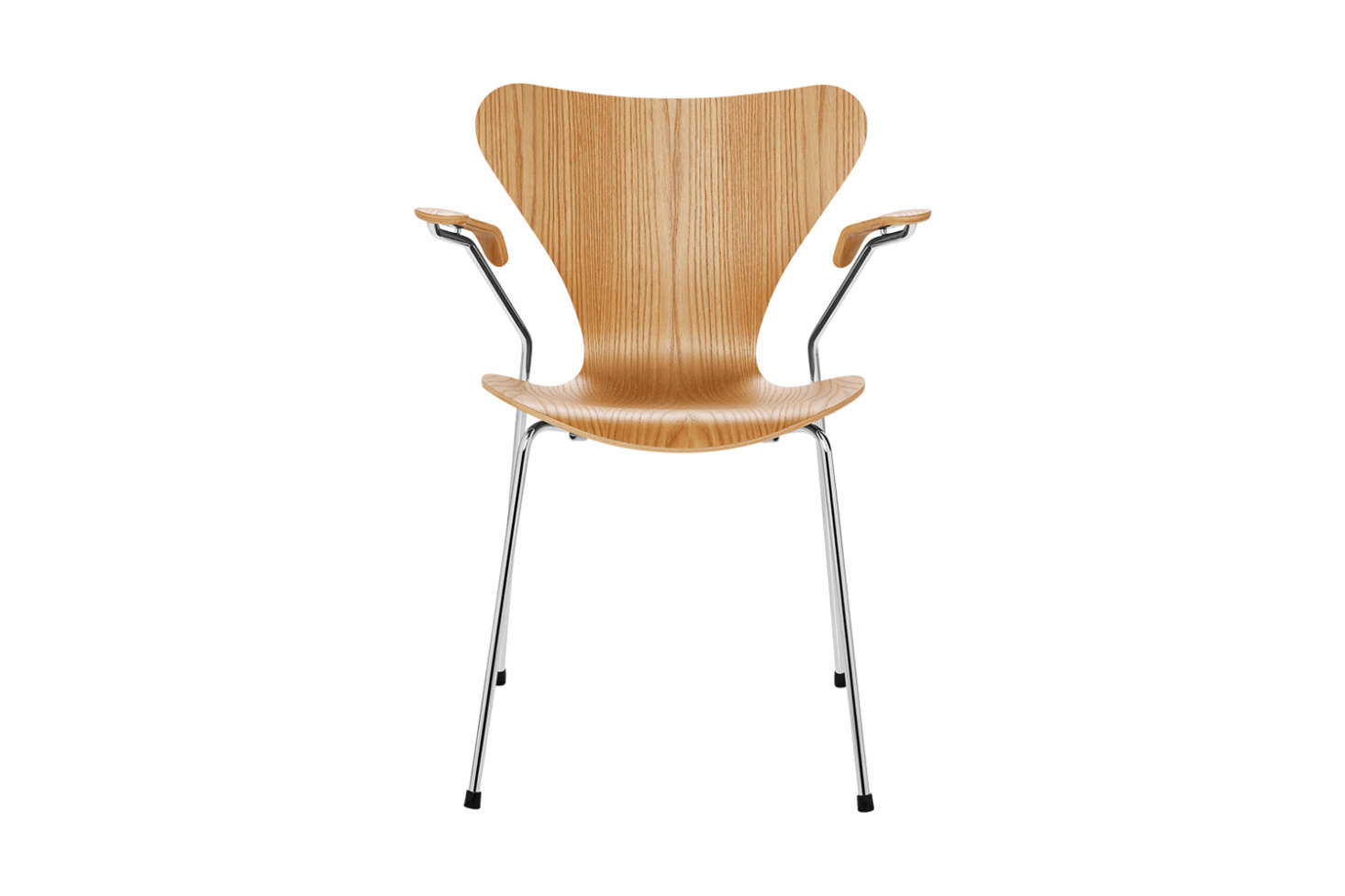 For a new version of the vintage chair, the Arne Jacobsen Series 7 Armchair Wood for Fritz Hansen is $src=
