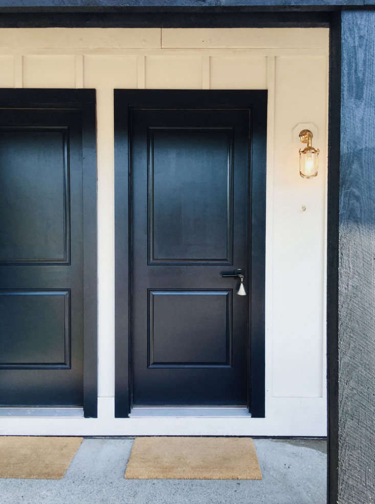 Doors at Brentwood Hotel in Saratoga Springs by Studio Tack