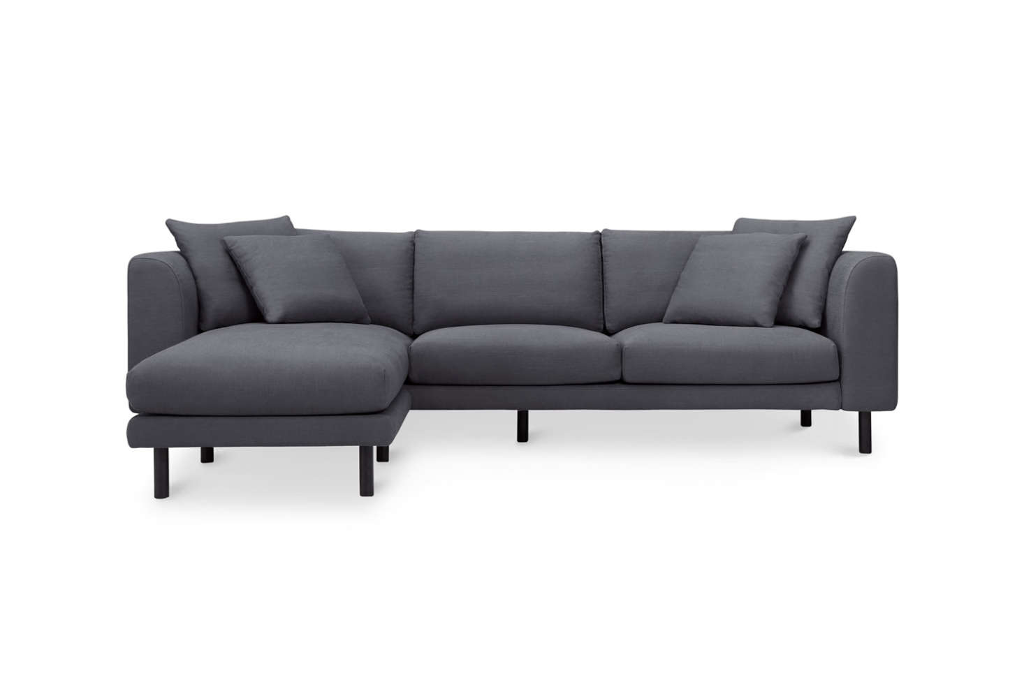 Astounding 10 Easy Pieces Sectional Chaise Sofas Remodelista Cjindustries Chair Design For Home Cjindustriesco
