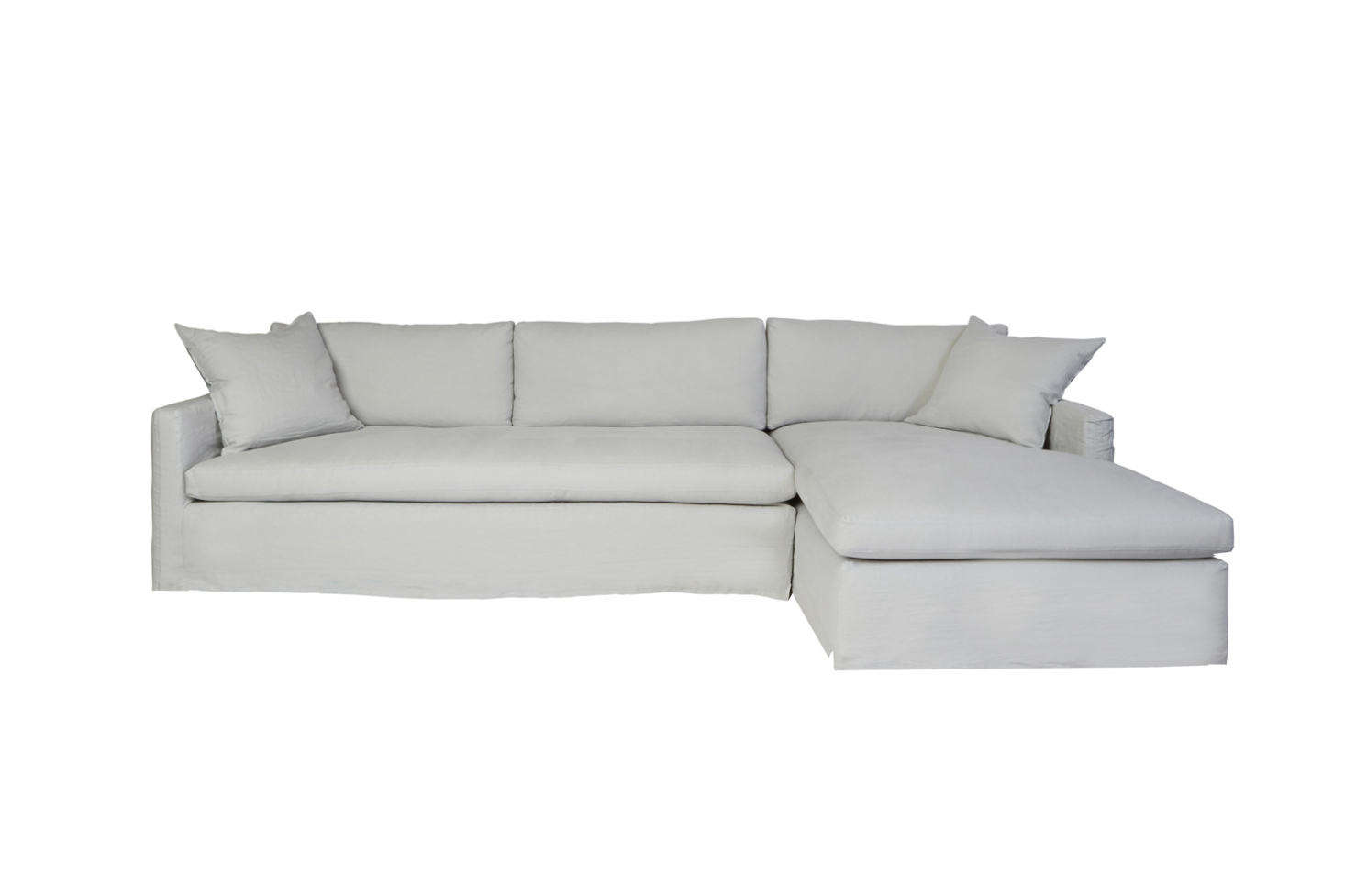 The Cisco Brothers Louis Two Piece Sectional Sofa Comes In A Right Or Left  Chaise