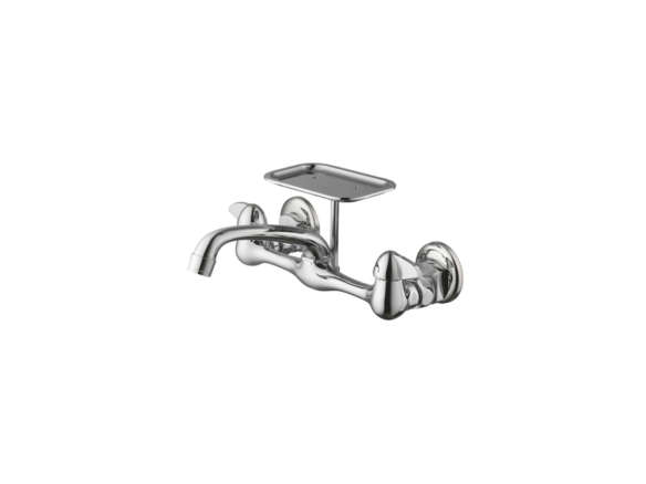Glacier Bay 2 Handle Shower Faucet.Glacier Bay 2 Handle Wall Mount Kitchen Faucet With Soap