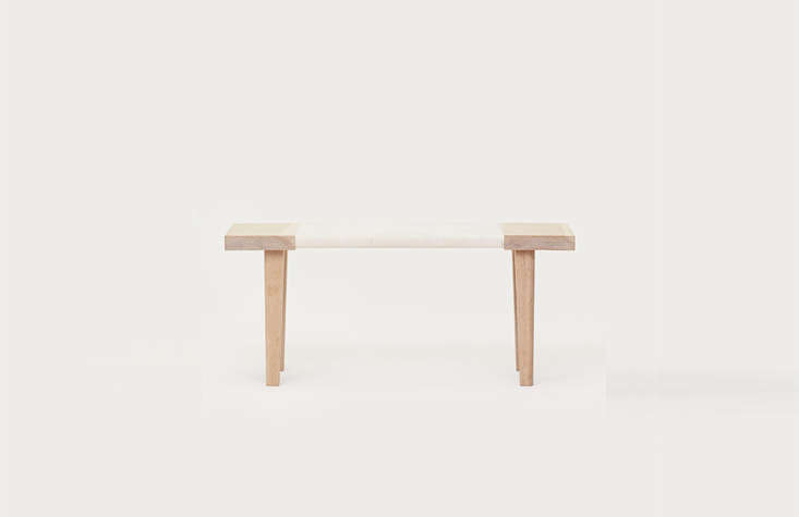 Each Piece Is Made Of White Oak The Day Bench 1 995