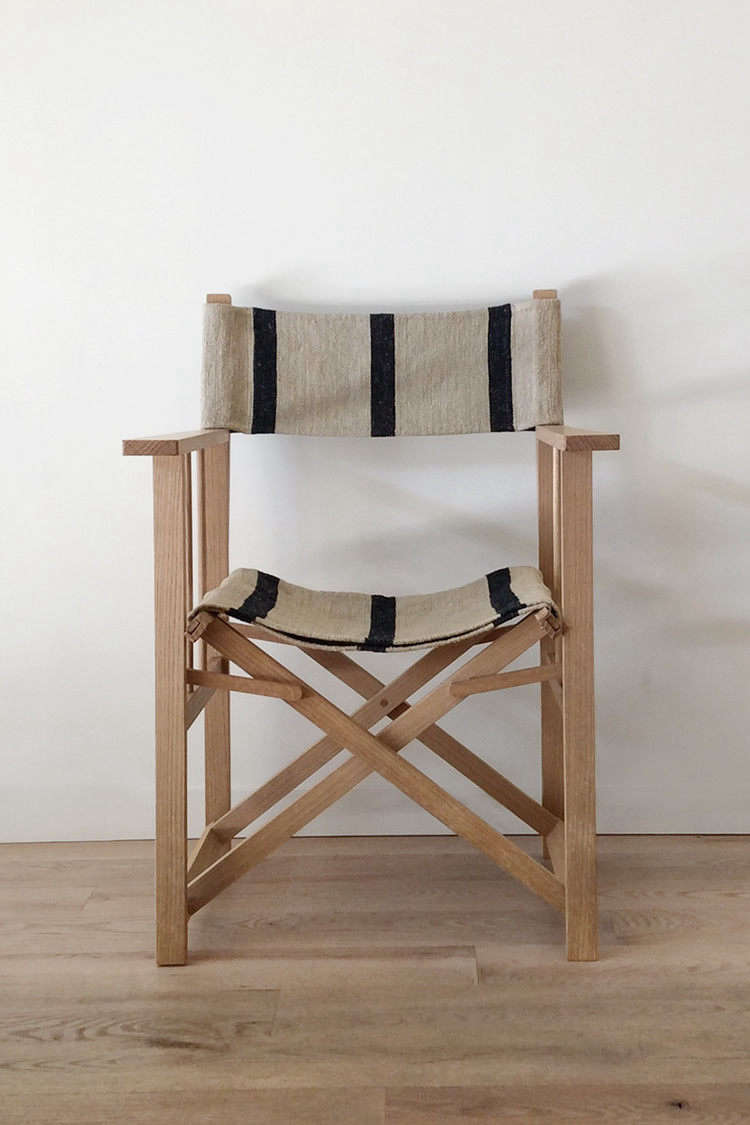 The Director S Chair With Navy Stripe Is 950
