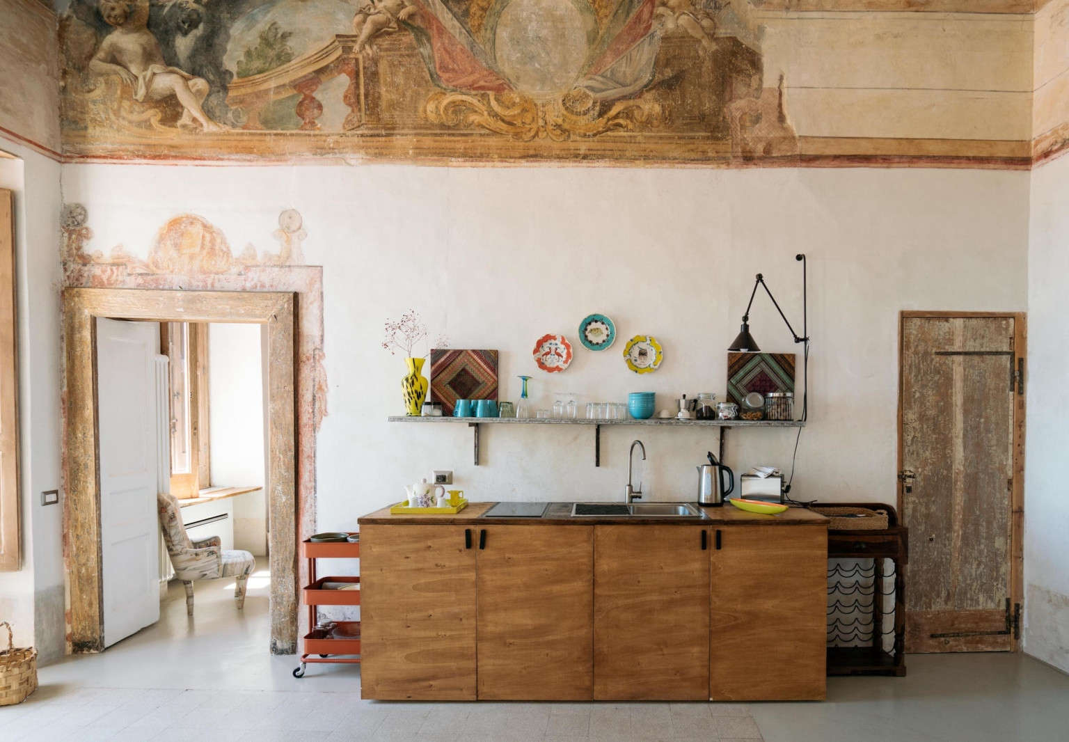 A Romantic Monastery-Turned-Vacation Rental on the Amalfi Coast