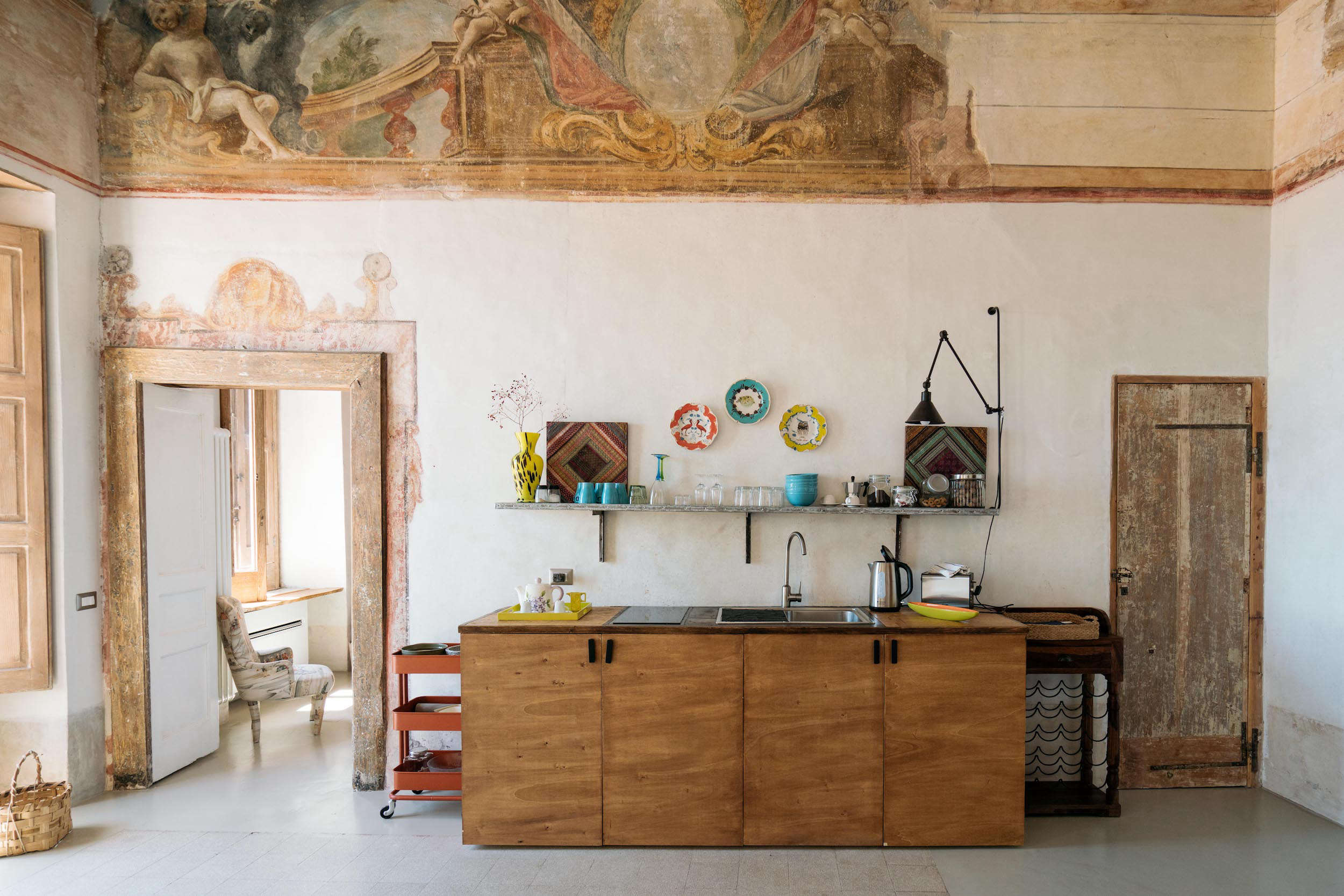 A Romantic Monastery-Turned-Vacation Rental on the Amalfi Coast