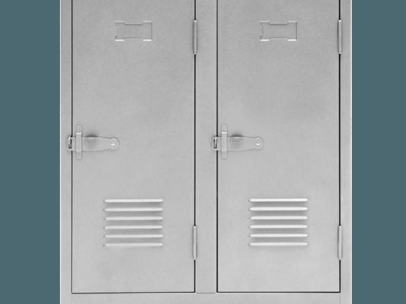 Tolix Double Door B2 Cabinet Steel