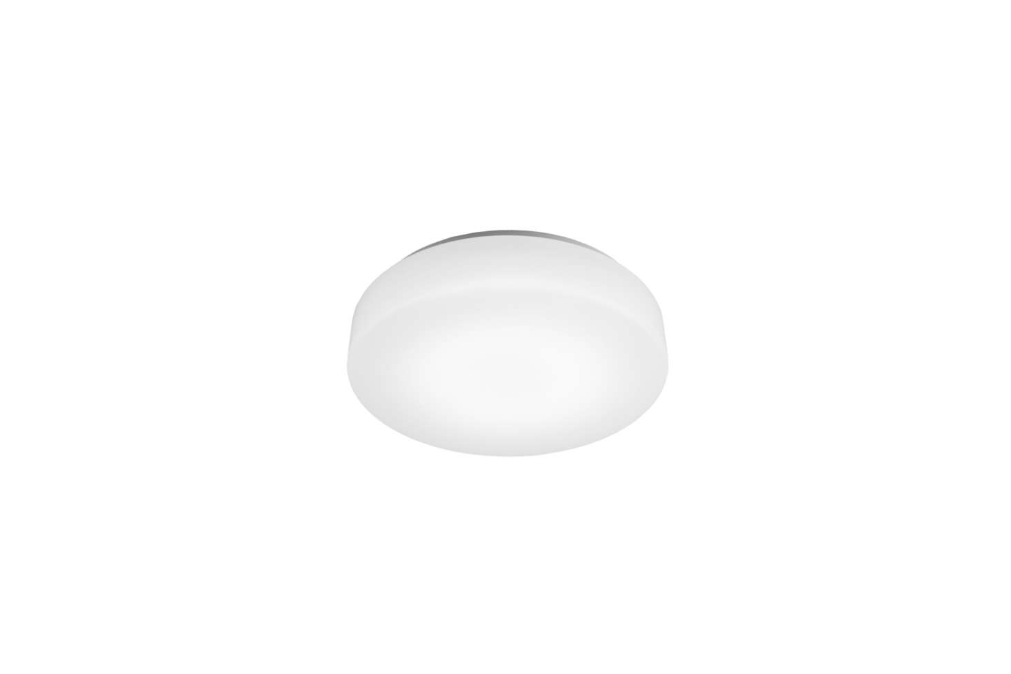 For a flush-mount light similar to the ceiling light in the office, see the WAC Lighting BLO LED Ceiling Light ($7
