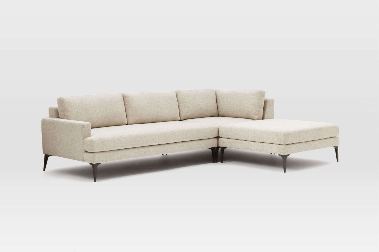 Awe Inspiring 10 Easy Pieces Sectional Chaise Sofas Remodelista Cjindustries Chair Design For Home Cjindustriesco