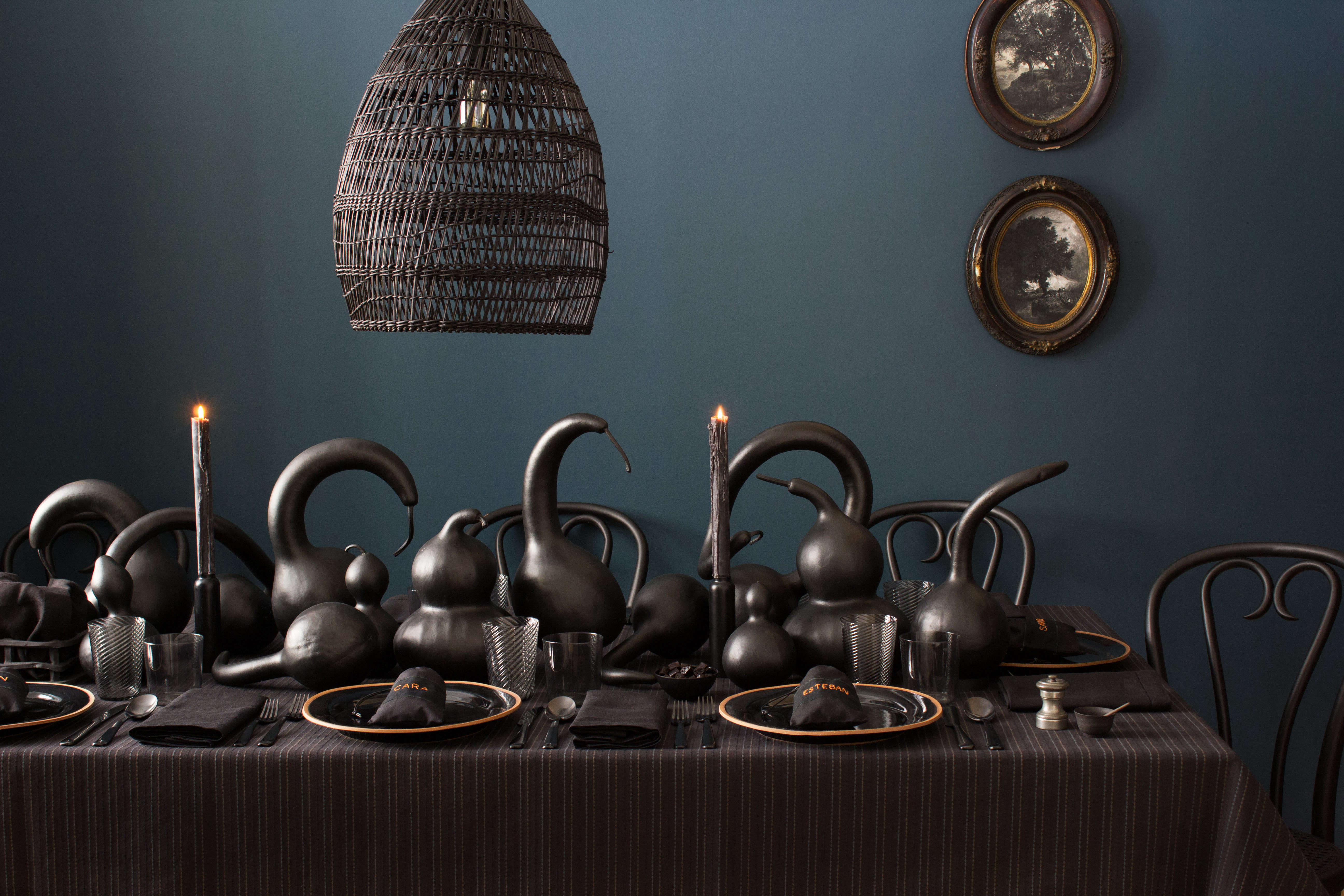 A Moody Diy Halloween Tablescape From David Stark Remodelista