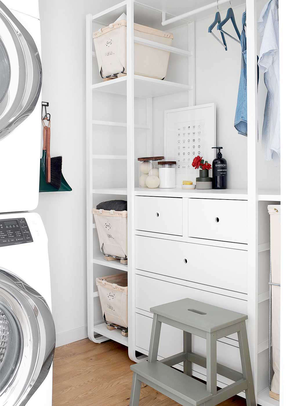 And, a laundry room makeover complete with DIY elements and Ikea storage (a few of our favorite things). See how it came together in Steal This Look: The Faux Martha's DIY Laundry Room Makeover, Courtesy of Ikea. Photograph courtesy of the Faux Martha.