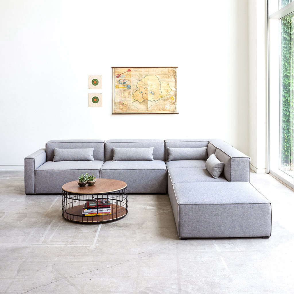 10 Easy Pieces: Modular Building Block Sectional Sofas - Remodelista