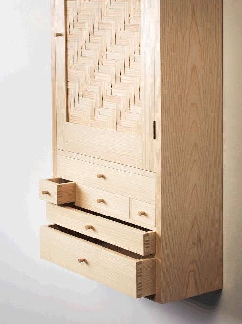 Splint Peg Cabinet By Heide Martin