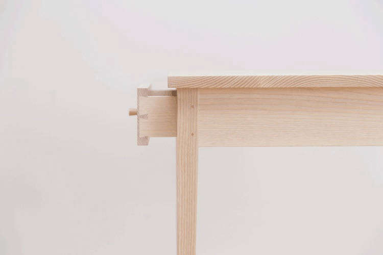 Traditional Joinery On The Small Drawer