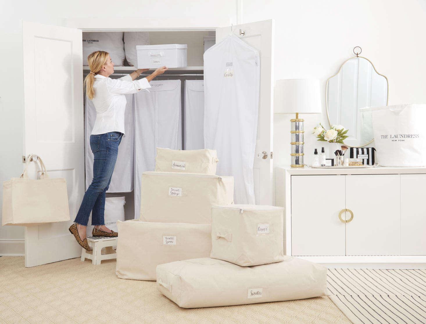 Black Cotton Laundry Bag: New & Noteworthy: The Laundress Goes Beyond The Laundry