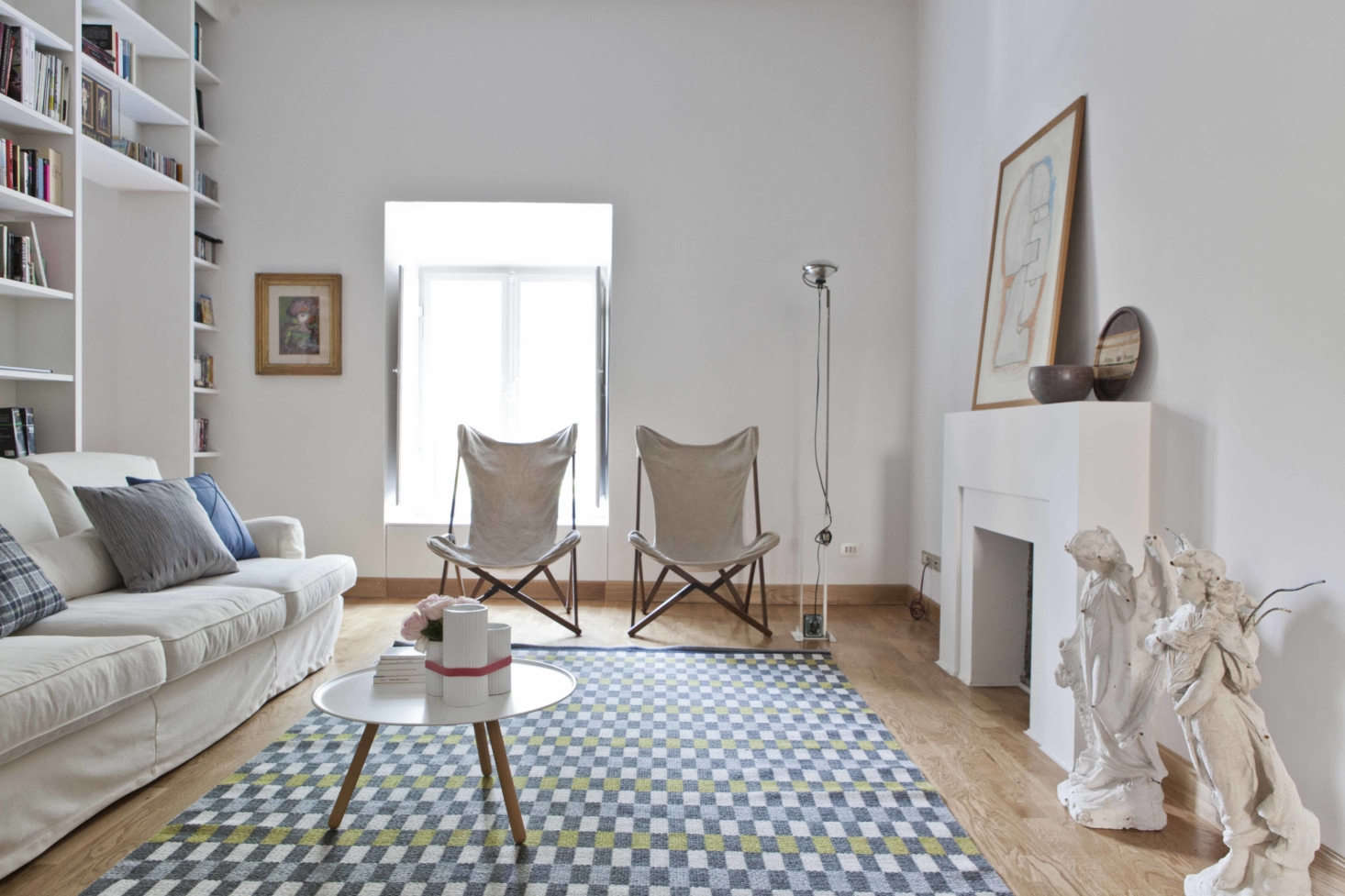 Ping Pong House: A Playful but Serene 19th-Century House in Rome, Transformed