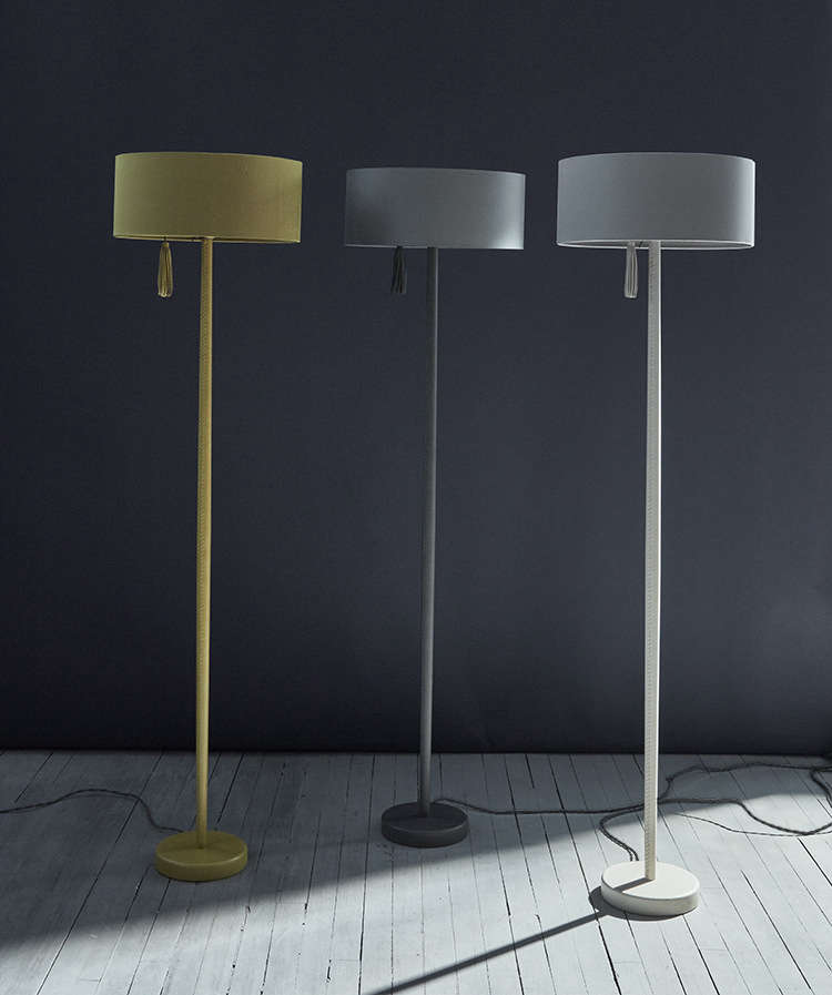 Object Of Desire Leather Wred Suna Lamps From Ochre