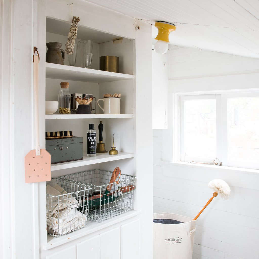 Fan checks out Schoolhouse's newish Organization & Utility department and finds a slew of well-designed, well-priced storage items. See The Cull: 15 Finds From Schoolhouse for a Well-Ordered Home, Under-$50 Edition.