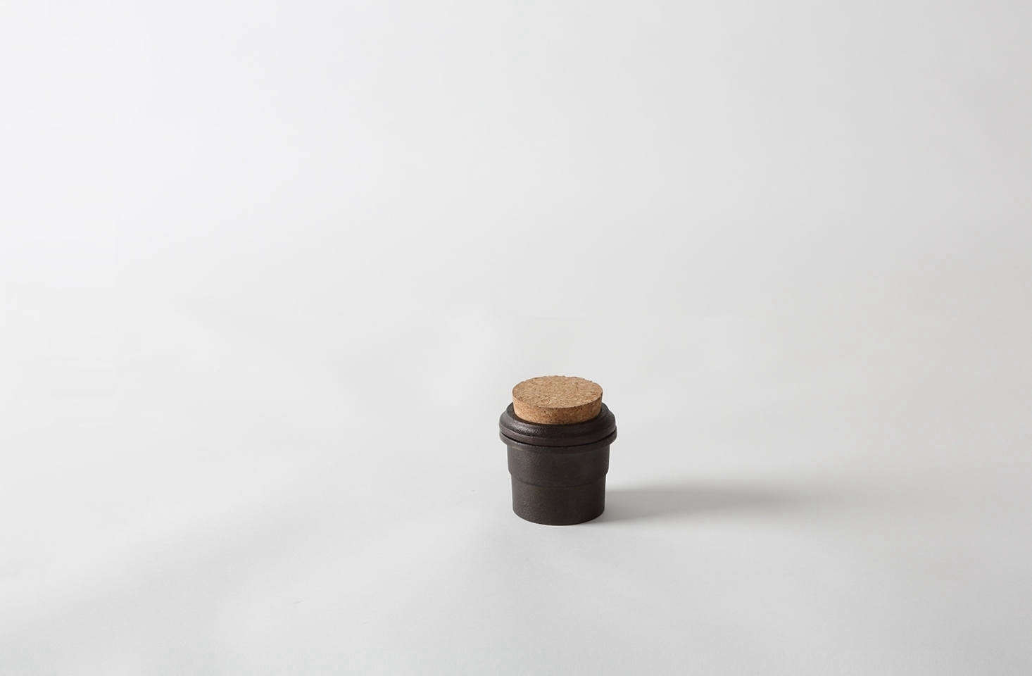 The Skeppshult Cast Iron Spice Grinder with cork top is $60 via March.