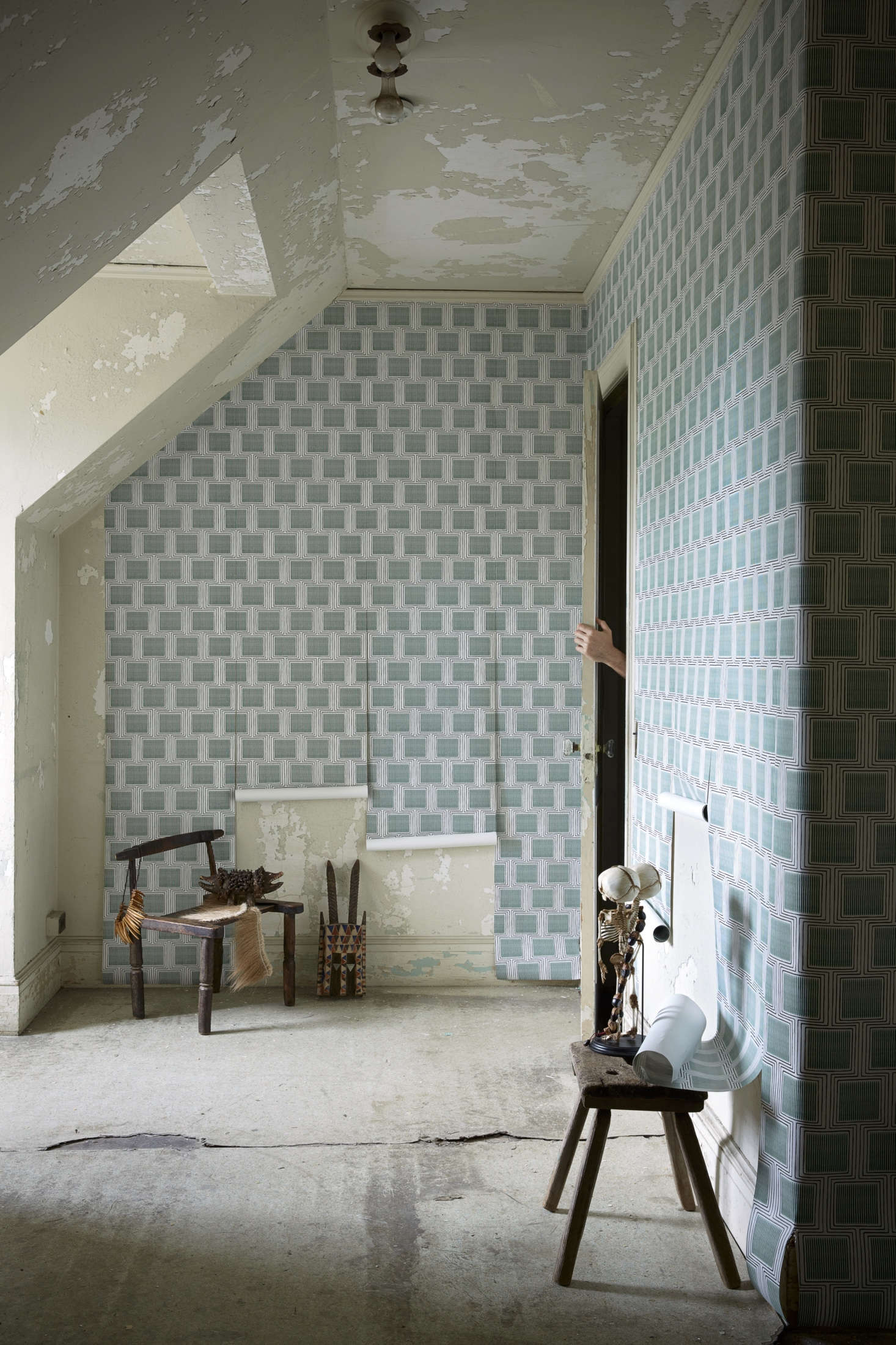 Wunderkammer A New And Exotic Wallcovering Line From Zak Fox