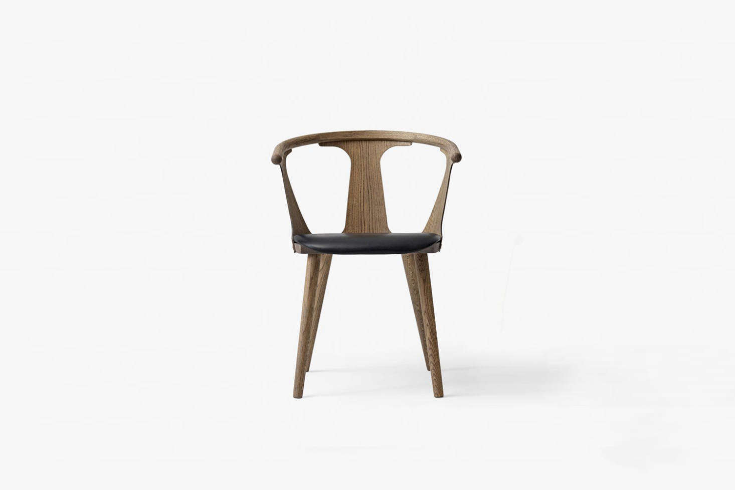The dining chairs are the In Between Chair by Sami Kallio for &Tradition in smoked oiled oak. Contact &Tradition for more information.